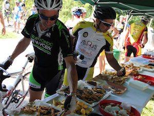 alimentazione del ciclista