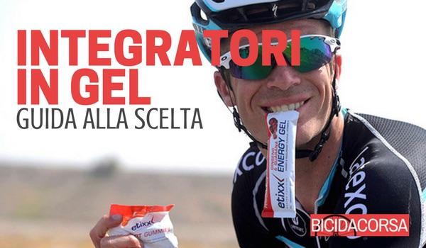 Integratori gel per ciclismo