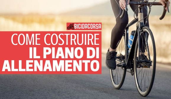piano di allenamento ciclismo