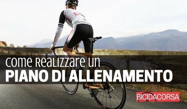 Programma di allenamento in bici da corsa