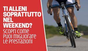 allenamenti ciclismo weekend