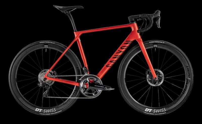 Bici da corsa Canyon Endurace CF SLX Disc