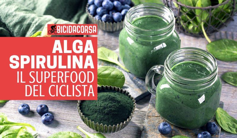 alga spirulina ciclismo