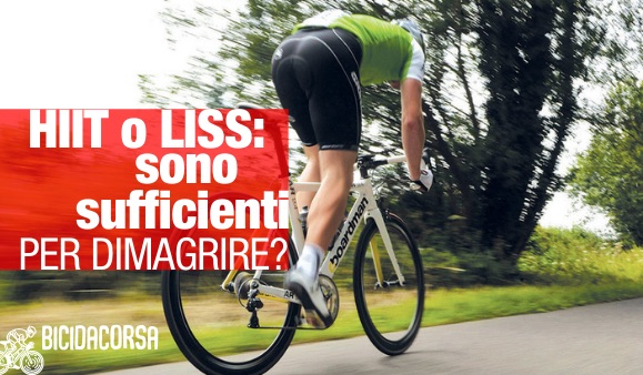 allenamento bici da corsa per dimagrire