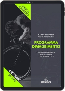 programma dimagrimento in bici