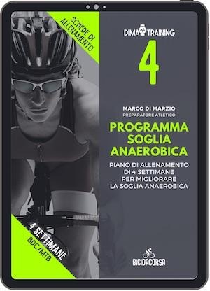 migliorare la soglia anaerobica ciclismo