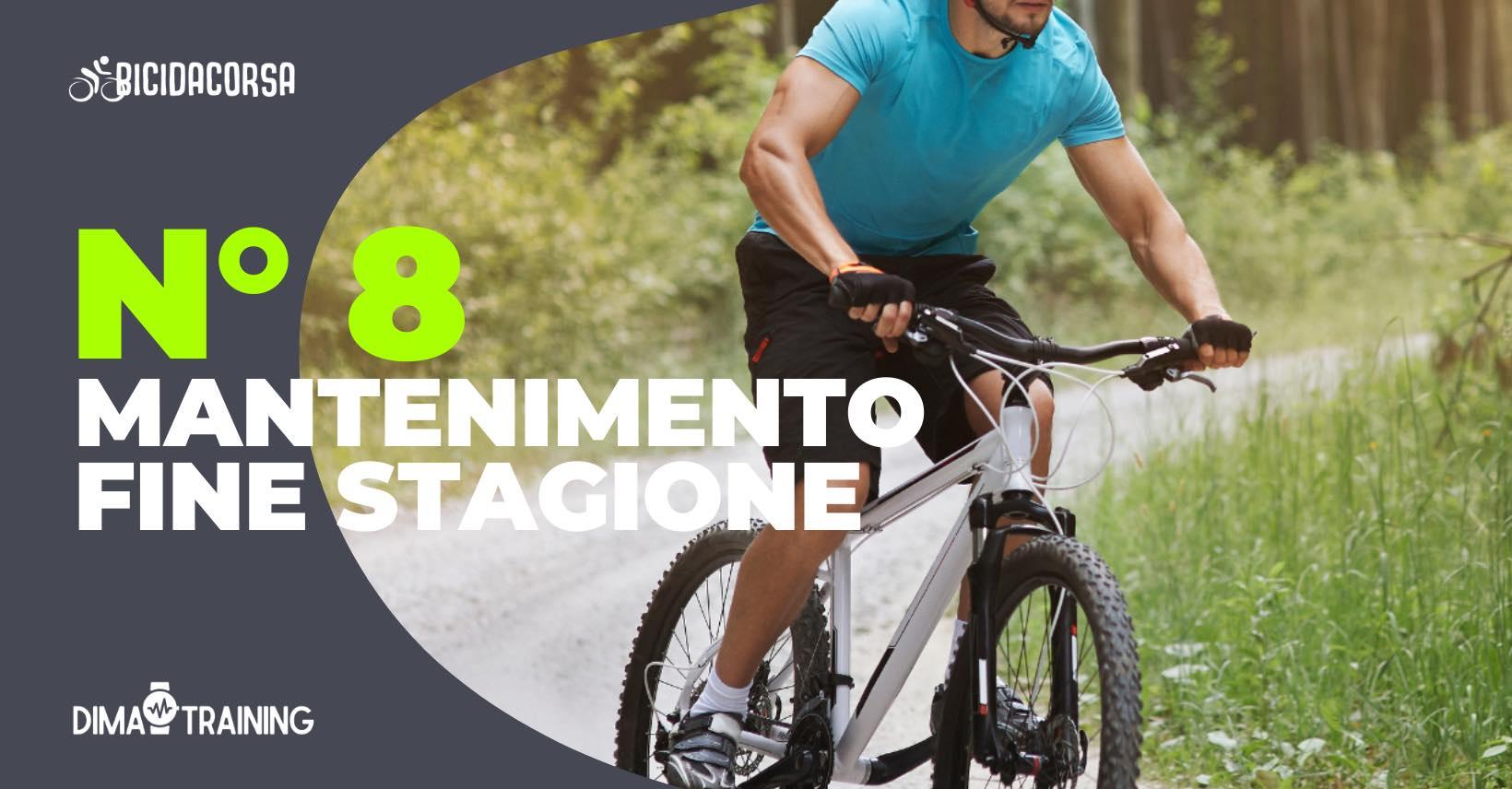 piano allenamento ciclismo